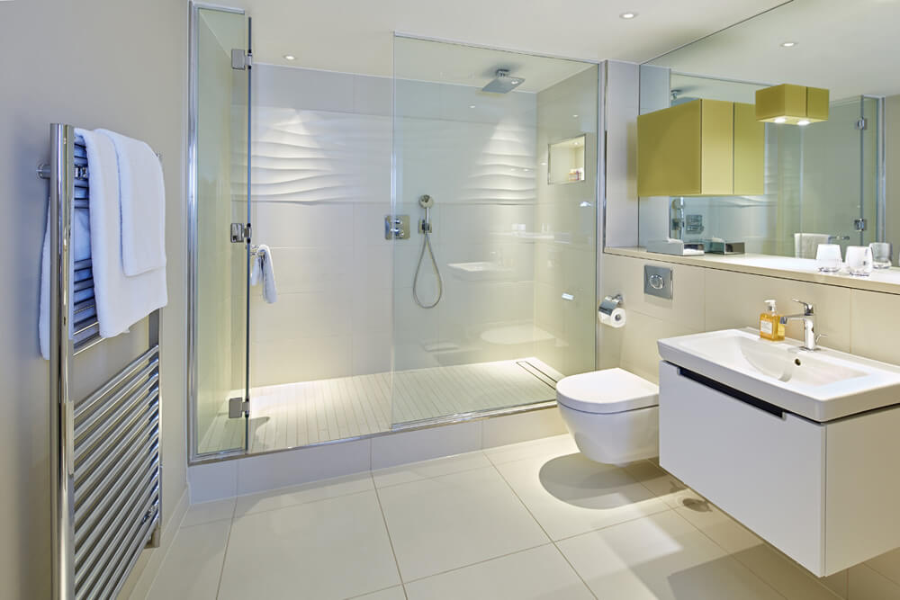able build services bathroom - Home